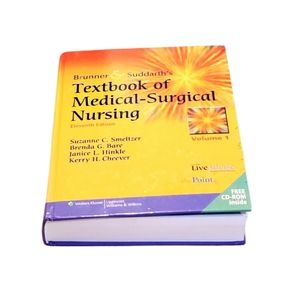 Textbook of medical-surgical nursing book